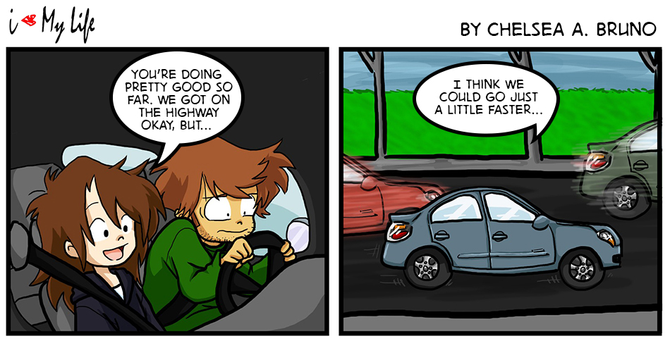 Comic 23: Driving Lesson 4