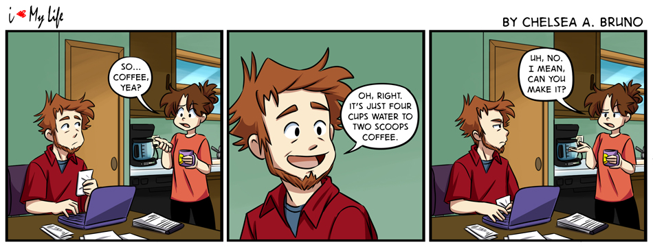 Comic 212: Coffee, Yea?
